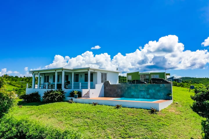Views, Breezes, Beaches.  Terrific New Pool Home