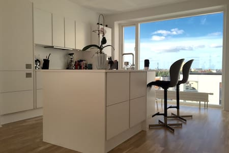 Luxurious penthouse apartment in midtown/near MCH - Herning