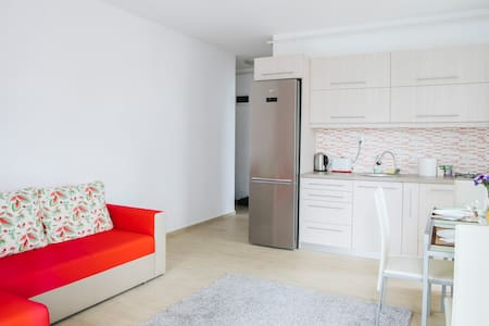 Modern, bright apartment right-next to Iulius Mall