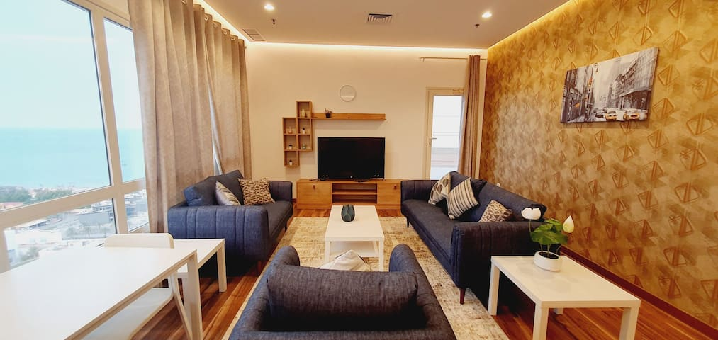 Seaview fintas 1 bedroom apartment
