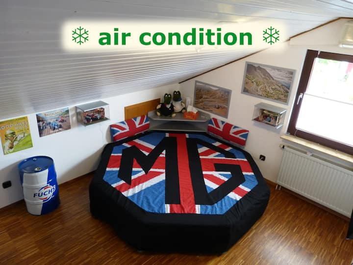 winding-roads BnB: Zimmer MG-Suite *air-condition*