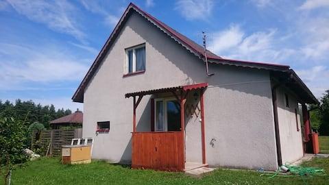 Dom Bursztynek - domek (sad)