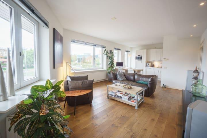 Modern renovated Dutch house in historic center - Leidschendam - Casa
