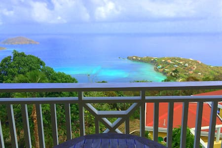 Caribbean Style Cottage with panoramic ocean views - Σπίτι