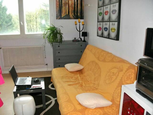 Studio près de Bourg en Bresse au calme