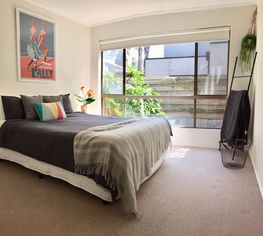 Bedroom with beautiful natural light