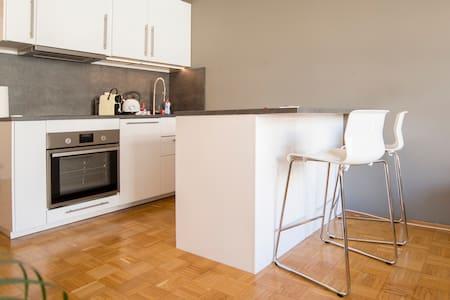 Modernes Apartment im beliebten Belgischen Viertel