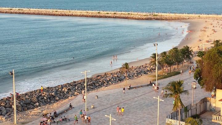 Mar e Praia de Iracema