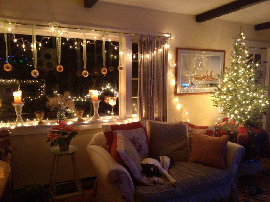 December is a festive and quiet time to visit