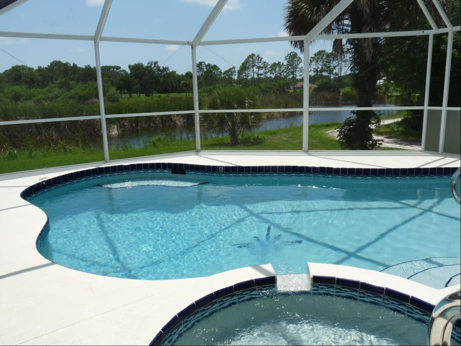 Pool at Pelican Pointe