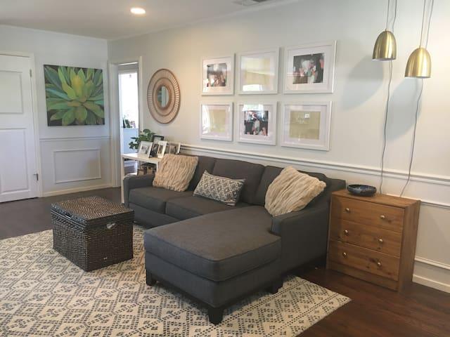 Family-friendly 3BR Home near Caltrain/Fwys - San Mateo - Haus