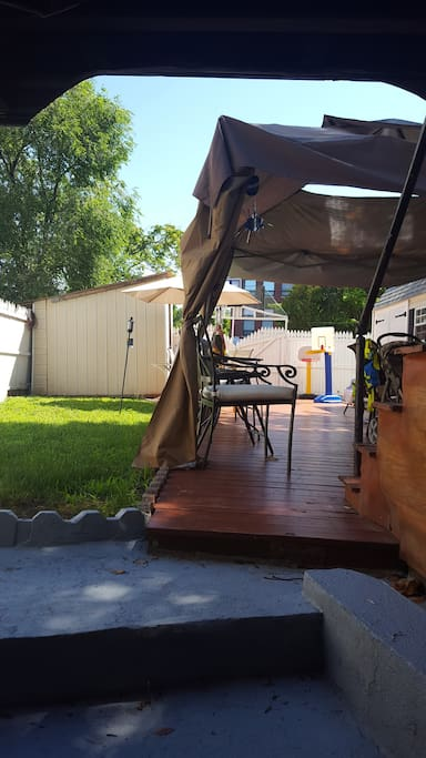 Shared Outdoor patio