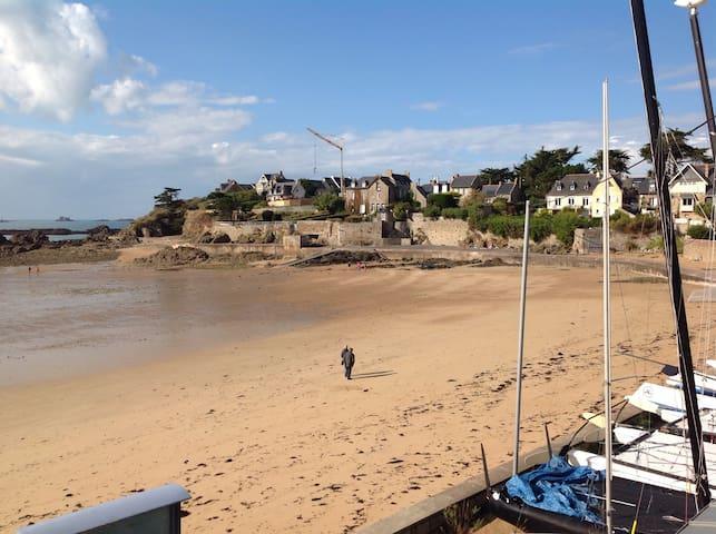 Un studio à la plage comme à la ville ! - Saint-Malo - Byt