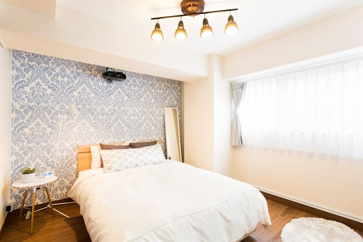 Cozy Apt 3mins to Station w/Pocket WiFi! - Minato-ku - Leilighet