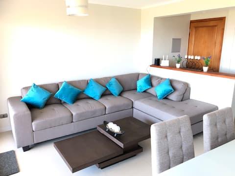 Modern and cozy apartment in Puerto Velero beach