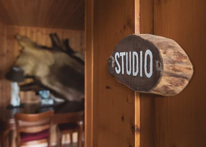 Charmant studio rustique aspirant à la détente !