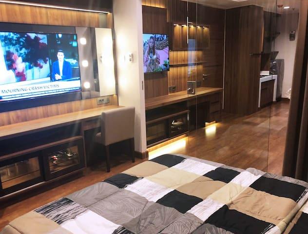 Premium DAGO SUITES 1 BEDROOM Apartment@BANDUNG