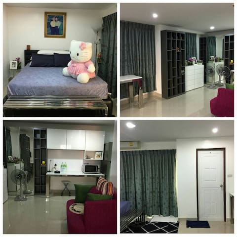Modern & Cozy Fully furnished Room - phasricharoen - Apartamento
