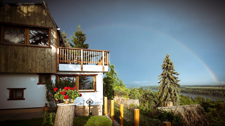 Rainbow time at ODU House ...