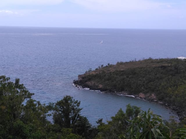 Vue sur Anse Duché