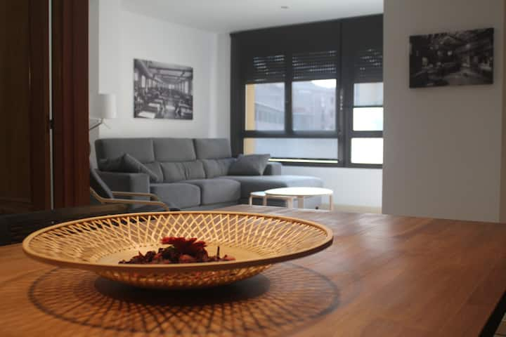 Apartament ampli al centre de Manresa
