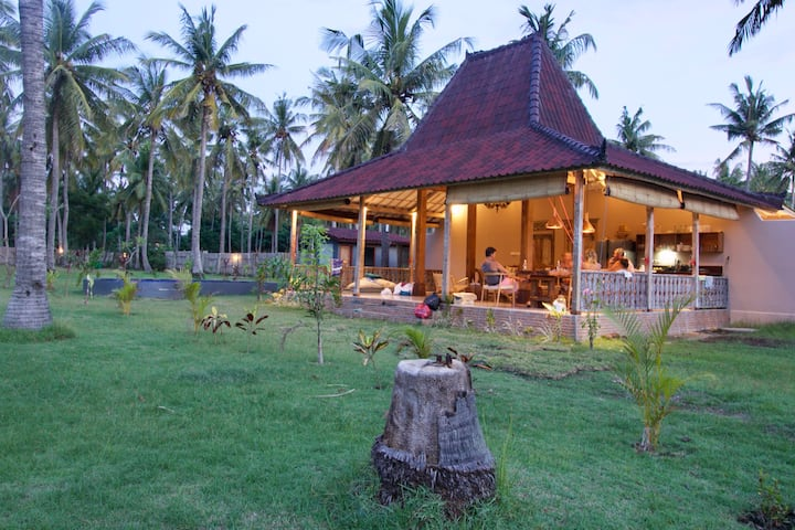 Tropical escape villa