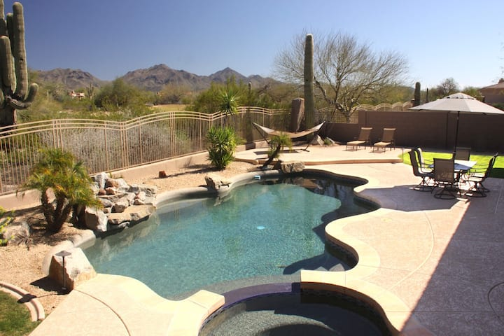 wow-views! Scottsdale Luxury 4BD