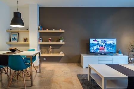 Amplia habitación doble a 35´ del Barcelona - Mollet del Vallès - Apartament