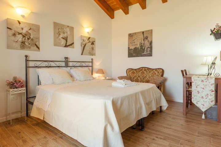 camera romantica con cucinino - Vicenza - Inap sarapan