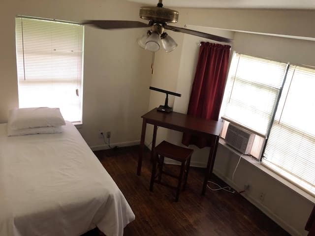 Bedroom. Close to SHSU; clean, comfortable, quiet.