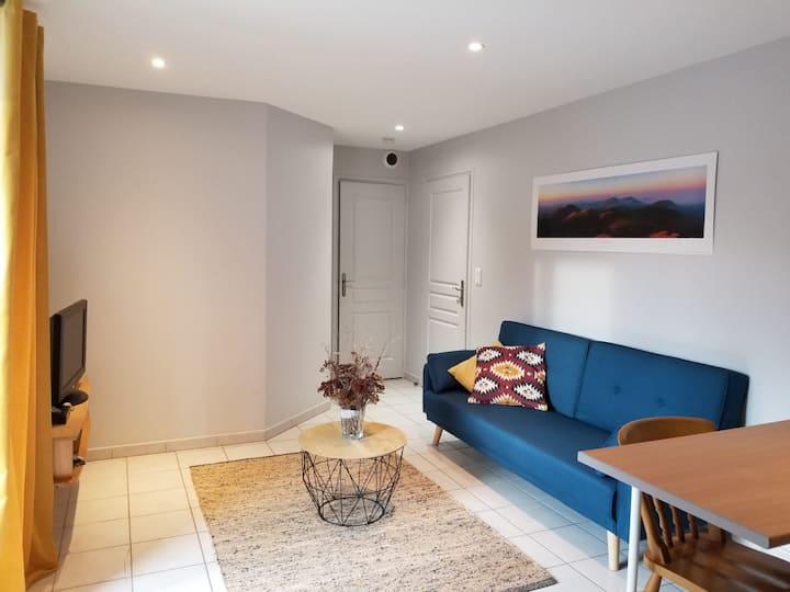 Appartement cosy, au cœur de la Chaîne des Puys...