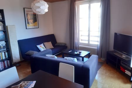In the city center, quiet and bright apartment