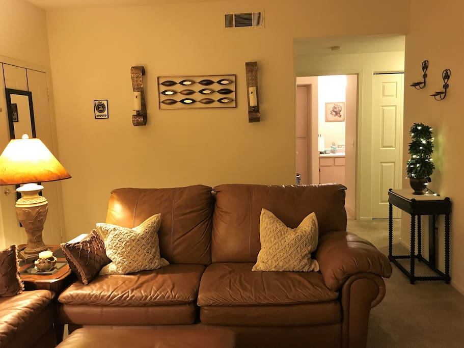 COZY SOFA WITH RECLINER