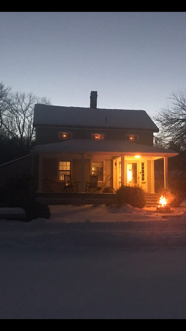 Spend the holidays in the Catskills