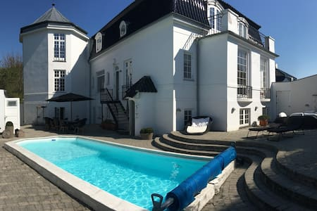 Luxury house with pool & oceanview - Klampenborg - Σπίτι