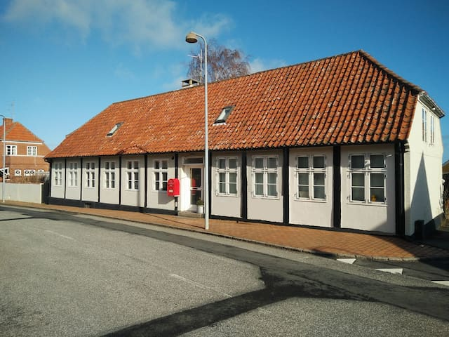 Købmandsgård i Svaneke værelse nr.1 - Svaneke - Bed & Breakfast