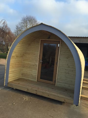 Glamping Pod in rural Herefordshire - Munsley