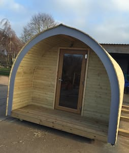 Glamping Pod in rural Herefordshire - Munsley - Pondok