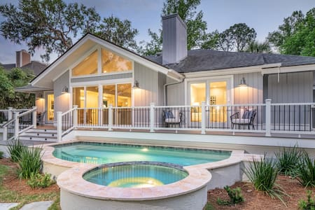 Renovated 3BR in Palmetto Dunes, new pool/spa/deck