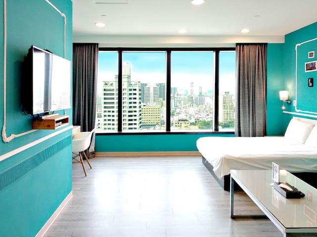 ◆高雄85大樓◆ 街景景觀莫凡畢套房