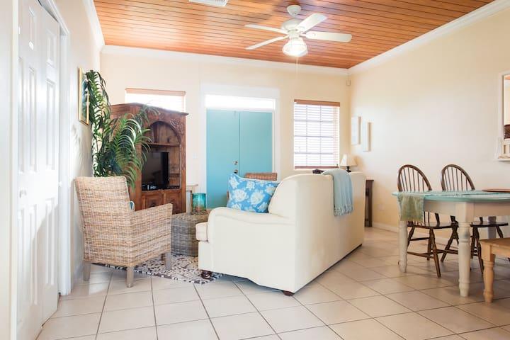 Caribbean Blue - Easy, Breezy, 2-bedroom apartment