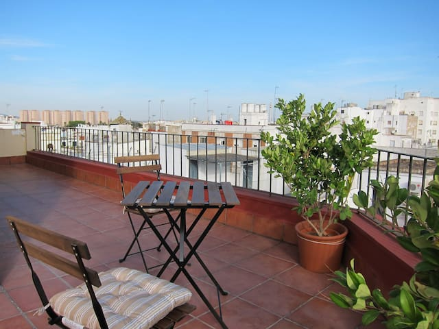 LOFT PENTHOUSE WITH VIEWS IN THE CENTER, JEREZ - Jerez de la Frontera - Podkroví