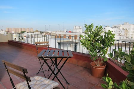 LOFT PENTHOUSE WITH VIEWS IN THE CENTER, JEREZ - Jerez de la Frontera - Loft-asunto