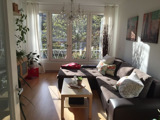 Super spacious nice central flat - Hamburg - Byt