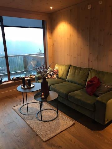 Eksklusiv leilighet i Gaustatoppen Lodge