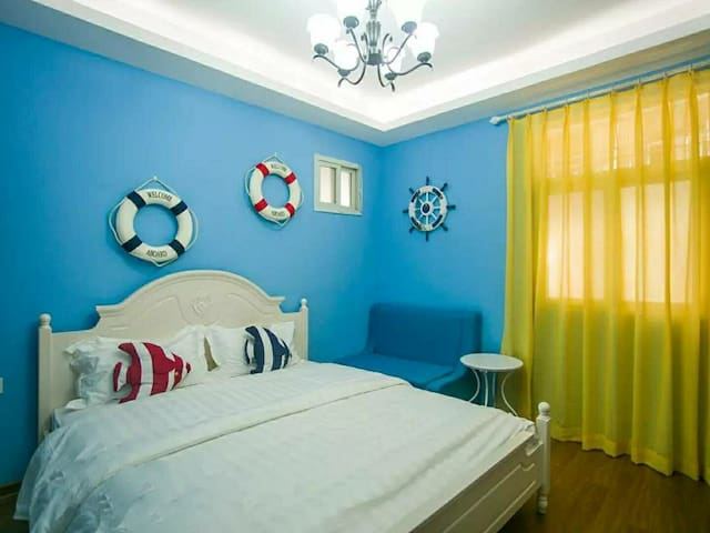 厦大学生公寓旁恬居1.8米大床房