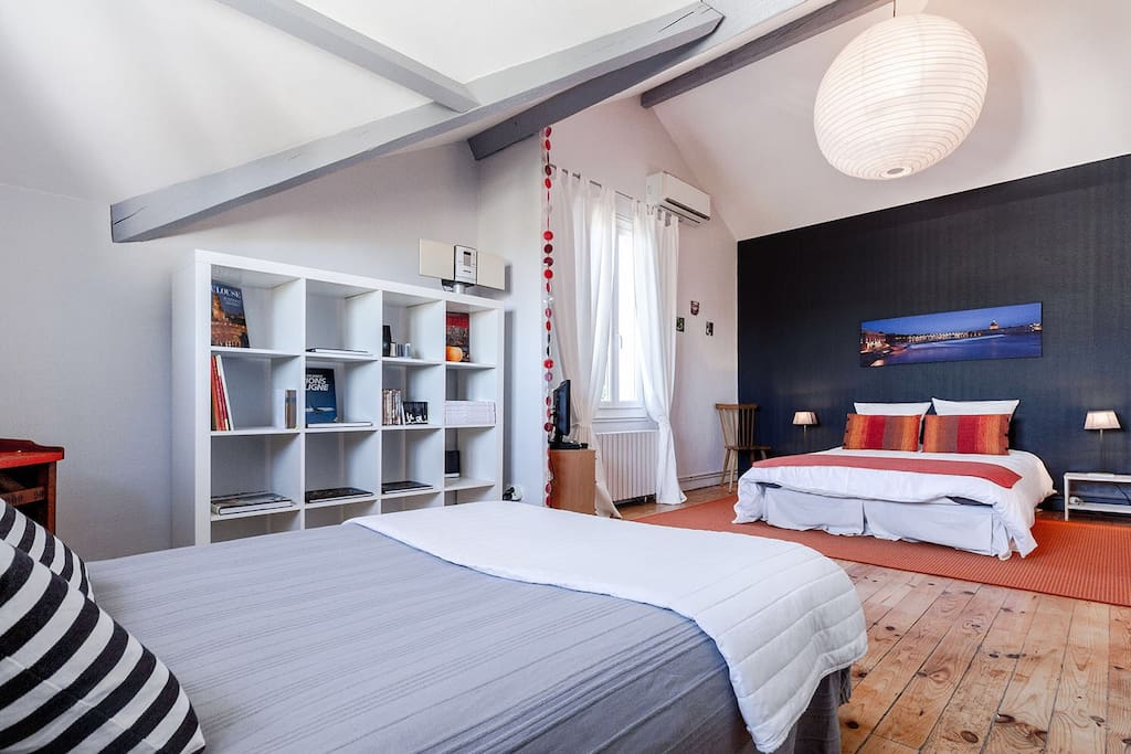 Charmant b b climatis piscinetoulouse minimes chambres for Location garage toulouse minimes