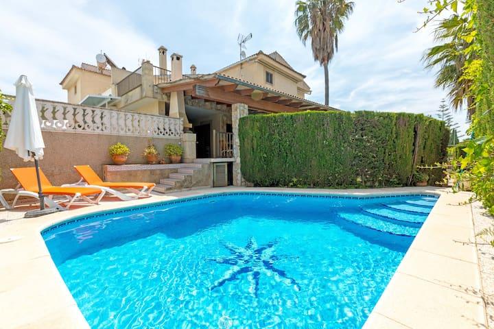 Cana Cati - tolles  Haus 200m vom Strand entfernt