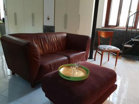 """Spacious, cozy """"old Milan"""" style flat, 15 mins cty"""