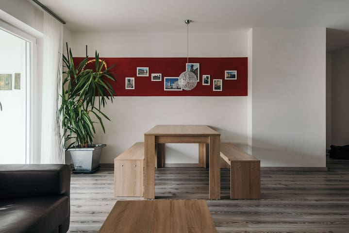 3 bedrooms - 6 persons * new house - Augsburg - Apartamento